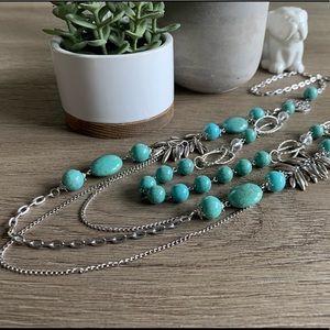 Lucky 🍀 Brand multi-strand necklace